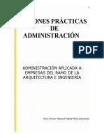 Nociones Básicas de Administración para Arquitectos.