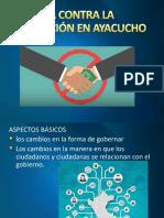 La Lucha Contra La Corrupción en Ayacucho
