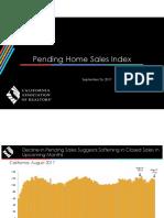 Pending Home Sales Index - 2017-08