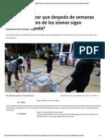 26-09-17 ¿Cómo garantizar que después de semanas los damnificados de los sismos sigan obteniendo ayuda_ _ Publimetro México