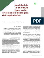 Las Causas de Las Causas de Las Causas en Salud - DSS Discusión y Crítica 2011-2013