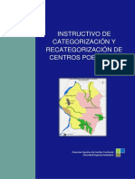 Instructivo de Categorizacion