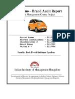 Tata Nano Brand Audit - Final Project Report (1).docx