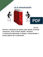 Barreraras de La Comunicacion.