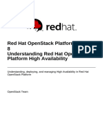 Red Hat OpenStack Platform-8-Understanding Red Hat OpenStack Platform High Availability-En-US