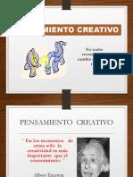 1- Creatividad