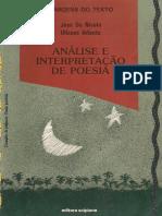 Analise e Interpretacao de Poesia Jose de Nicola