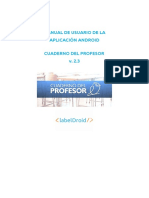 Manual de Usuario - Cuaderno Profesor 2.3