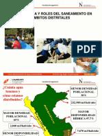 Roles y problem+ítica del sector saneamiento