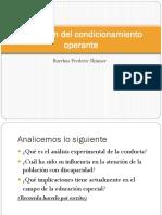 Aplicación del condicionamiento operante Clase 2.pptx