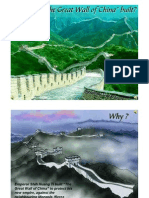 Why Was the Great Wall of China Built