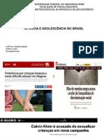 Cenário Da Infância e Juventude No Brasil