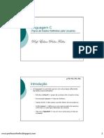 Linguagem C - (9) Tipos de Dados Definidos Pelo Usuário