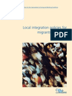 Local Integration Policies for Migrants in Europe