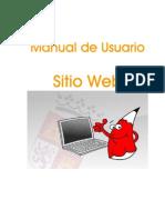 Manual Usuario Sitio