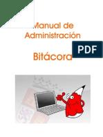 Manual Administración Bitacora
