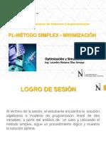 Session3 - ProgLineal - Metodo Simplex Minimizacion