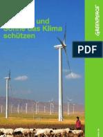Mit Wind und Sonne das Klima schützen