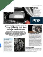 Piezas Del Auto Que Más Trabajan en Invierno - Www.lun