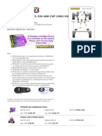 Suspencion PowerFlex - Catalogo Megane2
