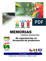 Memorias Congreso Noviembre 11 de 2016