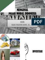 Mengenal Paar Modal Di Indonesia