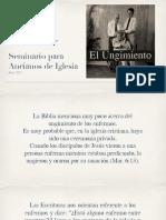 CERTAMEN 1 PP Seminario Ungimiento y Matrimonio - Ismael Bueno