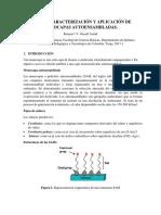 Síntesis Caracterización y Aplicación de Monocapas Autoensambladas