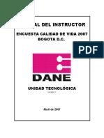 Manual Instructorecv