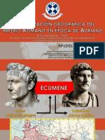 La Visibilización Geográfica Del Imperio Romano en Época