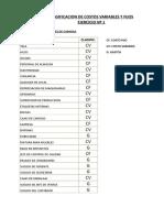 EJERCICIOS DE CLASIFICACION DE COSTOS VARIABLES Y FIJOS SOL.xlsx