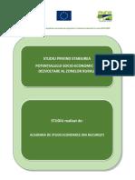 Studiu Potential Socio Economic de Dezvoltare Zone Rurale Ver 10.04.2015