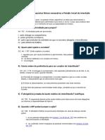 Perguntas Direito Processual Civil