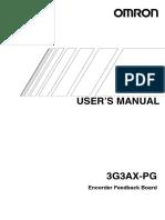 i564 e1 01 3g3ax Pg Users Manual