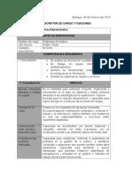 Descriptor de Cargo y Funcione1