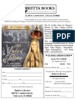 RENAISSANCE POLYPHONY OF PORTUGAL FOR OUR LADY OF FATIMA