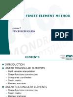 Lesson07-FEM for 2D Solids