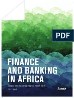 Finance and Banking in Africa:Extracts from the Africa Progress Report 2014