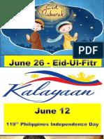 Bulletin Board June