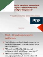 TQM Izmedu Dve Paradigme u Upravljanju Organizacijama1