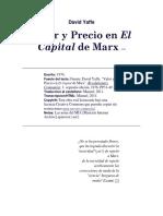 Valor y Precio en El Capital de Marx