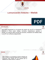 Comunicacion Arduino Matlab