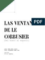 MUÑOZ - Las Ventanas de Le Corbusier