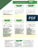 Calendario Ead 2017 3bim