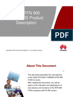 OptiX RTN 900 V100R003 Product Description
