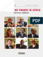 Banking and Finance in Africa