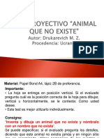 4. Test Del Animal Que No Existe