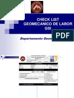 Luis Borne - Chek List Geomecanico de Labor Gsi