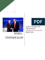 Stephen Elop - Ex CEO Nokia