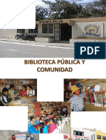 Biblioteca Pública y Comunidad